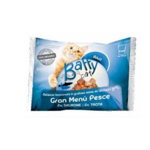BAFFY Cat gran Menù pesce 4x100 gr