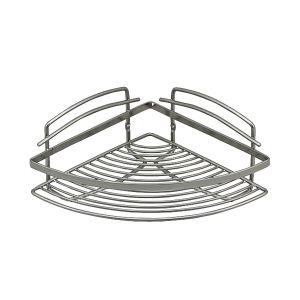 BATH Mensola Doccia in Metallo Silver 22x22x11,5 cm