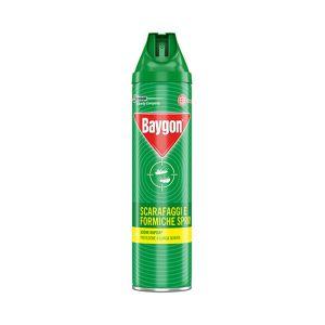 BAYGON Spray Scarafaggi e Formiche Azione Rapida 400 GR