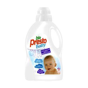 BIO PRESTO Baby Detersivo Lavatrice Bucato a Mano 1,5lt