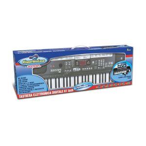 BONTEMPI Tastiera Digitale 61 Tasti 200 Ritmi 60 Song