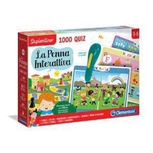 CLEMENTONI La Penna Interattiva 1000 Quiz