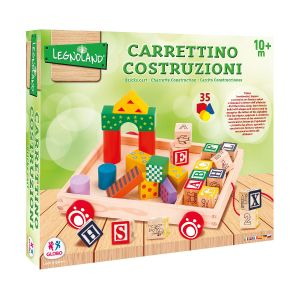 GLOBO Carretto Trainabile Legno