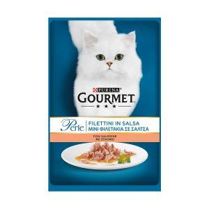 GOURMET Perle Filetti di Salmone 85 gr