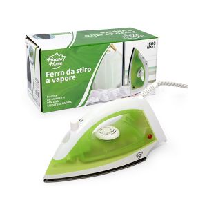 HAPPY HOME Ferro da Stiro 1600W Ceramica