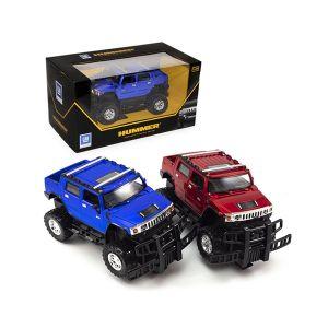 Hummer H2 Sut Blu/Rossa 30x16,3x16cm