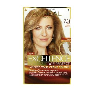 L'OREAL Paris Tinta Capelli Excellence Age Perfect 7.31 Biondo Ambra