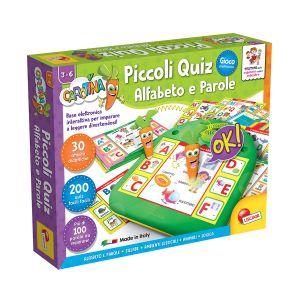 LISCIANI Carotina Piccoli Quiz Alfabeto e Parole