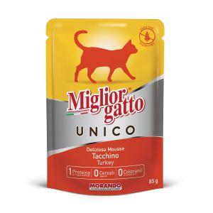 MIGLIOR GATTO Unico 100% Tacchino 85 gr
