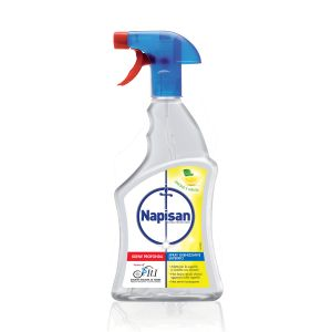 NAPISAN Spray Igienizzante Limone e Menta 750 ML