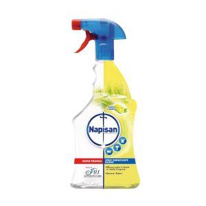 NAPISAN Spray Igienizzante Limone e Menta Bagno 750 ML