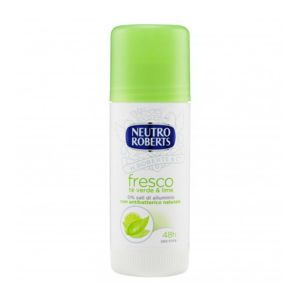 NEUTRO ROBERTS Deodorante Stick Fresco Tè Verde e Lime 40ml