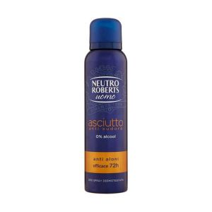 Neutro Roberts Uomo Asciutto Anti Sudore Deo Spray 150