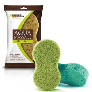 ARIX Spugna Morbida Bagno 100% Vegetale Assortito