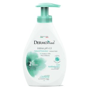 DERMOMED Sapone Intimo Natural Protection Antibatterico 300ml