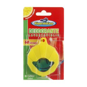RISPARMIO CASA Deodorante Lavastoviglie Cattura Odori 60 Lavaggi