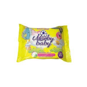 RISPARMIO CASA Morbi Baby Salviette Flowpack 20 pezzi