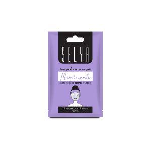 SELYA Maschera Viso Argilla Pura Purple 10 ML