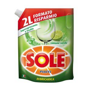 SOLE Piatti Ecoricarica Lemon 2 L