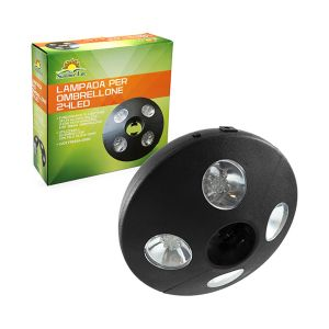 SUMMER LIFE Luce Led Per Ombrellone 19.5x5.1 cm