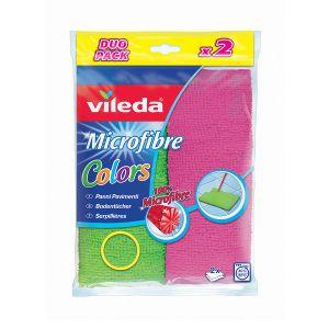 VILEDA Panno Pavimenti Colors 2 pezzi