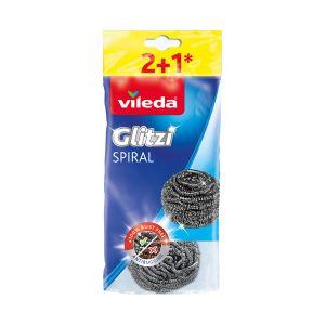 VILEDA Spirale Inox 2+1 pezzi