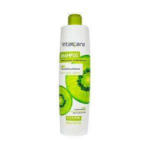 VITALCARE Shampoo Vitamins Rivitalizzante e Fortificante al Kiwi 500 ML
