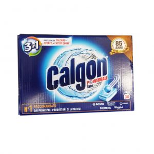 CALGON Powerball 3in1 30 Tabs