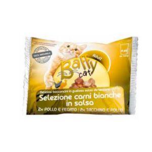 BAFFY Cat Selezioni Carni bianche in salsa 4x100 gr