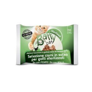 BAFFY Cat Selezioni Carni in salsa per gatti Sterilizzati 4x100 gr