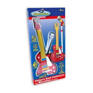 BONTEMPI Chitarra Rock con Microfono da Palcoscenico