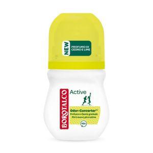 BOROTALCO Deodorante Roll-On Active Odor Converter Profumo di Cedro e Lime 50ml