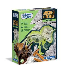 CLEMENTONI Archeogiocando Triceratopo
