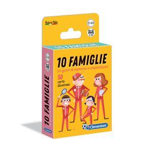 CLEMENTONI Carte 10 Famiglie