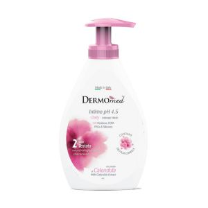 DERMOMED Crema di Sapone Intimo Quotidiano Calendula 300ml