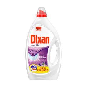 DIXAN Lavatrice Liquido 54 Misurini Lavanda