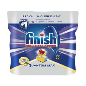 FINISH Powerball Quantum Tabs 20 Lemon