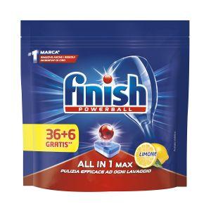 FINISH Powerball All in 1 36+6 Lemon