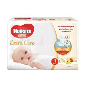 HUGGIES Pannolini Bebe 2-5kg 28 Pezzi