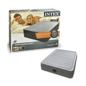 INTEX Materasso Comfort Queen 152x203x46cm Pompa