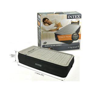 INTEX Materasso Comfort Twin 99x191x46cm Pompa