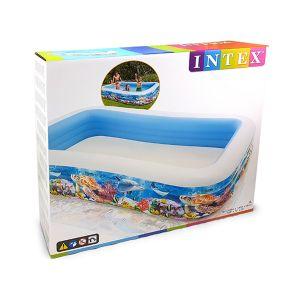 INTEX Piscina Family Pesci 305x183x56cm