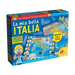 LISCIANI I'm a Genius - Geopuzzle La Mia Bella Italia