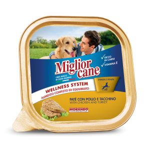MIGLIOR CANE Patè con Pollo e Tacchino 150 gr
