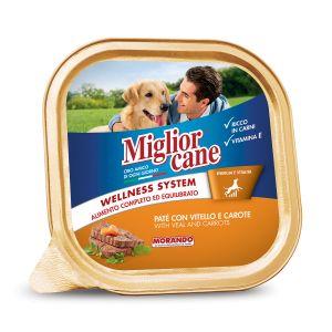 MIGLIOR CANE Patè con Vitello e Carote 300 gr