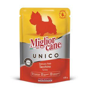 MIGLIOR CANE Unico 100% Tacchino 100 gr