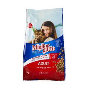 MIGLIOR GATTO Croccanti Adult con Manzo 400 gr