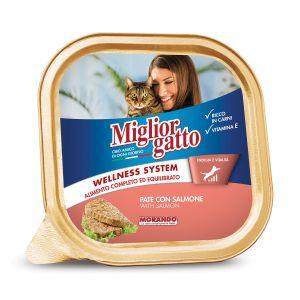 MIGLIOR GATTO Vaschetta Salmone 100 gr