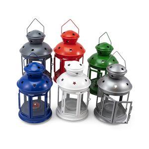 NEO Lanterna Tea Light In Metallo