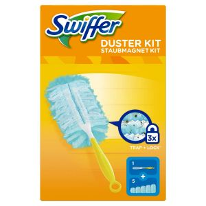 SWIFFER Kit Duster con Manico e 5 Piumini